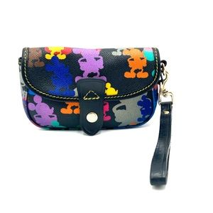 Dooney & Bourke Discontinued Mickey Wristlet